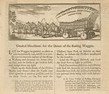 General Directions for the Driver of the Rolling Waggon