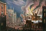 View of the destruction of both Houses of Parliament, 16 October 1834