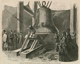 Experiment with the hammer upon the great bell for the Westminster clock