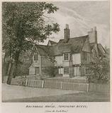 Rectorial House at Newington Butts, Southwark, London, from the south east