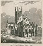 St Saviour's Church, Southwark, Surrey