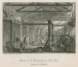 Interior of John Bunyan's meeting house in Zoar Street, Gravel Lane, Southwark
