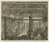 An interior view of John Bunyan's meeting house in Zoar Street, Gravel Lane, Southwark, in its present state