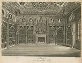 Library at Strawberry Hill, London