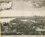 The prospect of London and Westminster taken from Lambeth