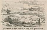 Pretorium of the Roman Camp near Pentonville, London