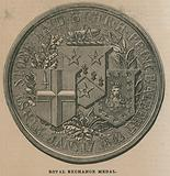 Royal Exchange Medal, struck to commemorate the opening of the Royal Exchange in 1844