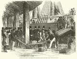 Landing gold from The Australian steamship