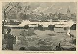 A sketch of the boat race