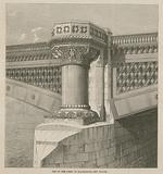 One of the piers of Blackfriars new bridge