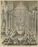 Opening of the Church of St Mary