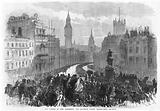 The funeral of Lord Palmerston