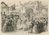 Henry V entering London after the Battle of Agincourt