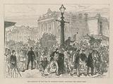 The abolition of the toll on Waterloo Bridge