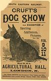 Advertisement for Cruft's Dog Show