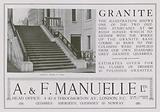 Advertisement for A & F Manuelle Limited