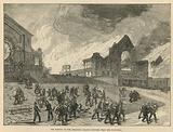 The burning of Alexandra Palace