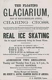 Advertisement for the Floating Glaciarium