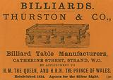Advertisement for Thurston & Co