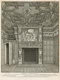 Interior view of the home of Sir Paul Pindar