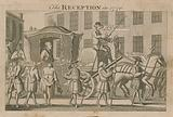The reception in 1770