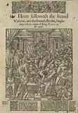 King Henry VIII trampling the Pope