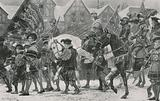 The Coronation procession of Edward VI through London