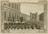 The execution of King Charles I before the Banqueting House, Whitehall, 30 January 1649