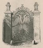 The gates to Holland Park, Kensington