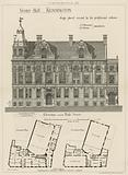 Vestry Hall, Kensington, design placed second by the professional referee