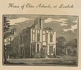 House of Elias Ashmole at Lambeth