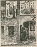 Jack the Ripper: The Miller Court murder, Whitechapel - site of Mary Kelly's lodgings