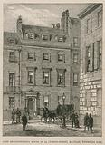 Lord Beaconsfield's house at 19 Curzon Street, Mayfair, where he died