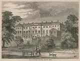 Devonshire House, London, in about 1800