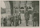 The arrival at the main entrance of the Imperial Institute of the Prince of Wales …