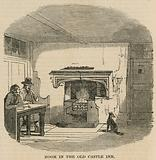 A room in the Old Castle Inn, Kentish Town, London
