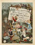Advertisement for The Royal Worcester Bazaar, 2 Foregate Street, London