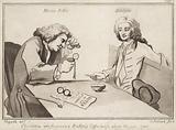 Characters who frequented Button's Coffee House about the year 1720s; Martin Folkes, Addison
