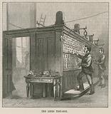 The Central Post Office Telegraph Establishment: The lines test-box