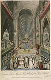 Coronation of their Majesties King William IV and Queen Adelaide at Westminster Abbey