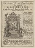 Advert for The Grand Theatre of the Muses