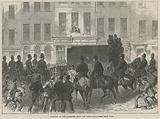 Removal of the Fenian Prisoners from the Courthouse at the Bow Street