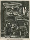 Sketches of Gipsy Life; Interior of Van near Latimer Road, Notting Hill