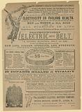 Advert for Electric Body Belt