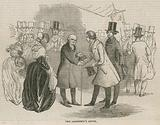 The opening of the Thames Tunnel; The architects levee