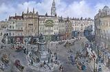 Old London Reconstructed: Charing Cross about 1830