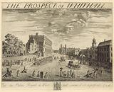The Plan of Whitehall, 1724