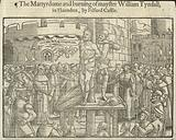 The martyrdom and burning of William Tyndall in Flaunders by Filford Castle