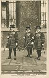 Yeoman Warders in state dress, Tower of London