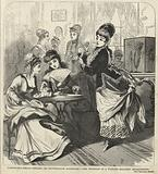 Fashionable female tippling; or, Drawing-room alcoholism